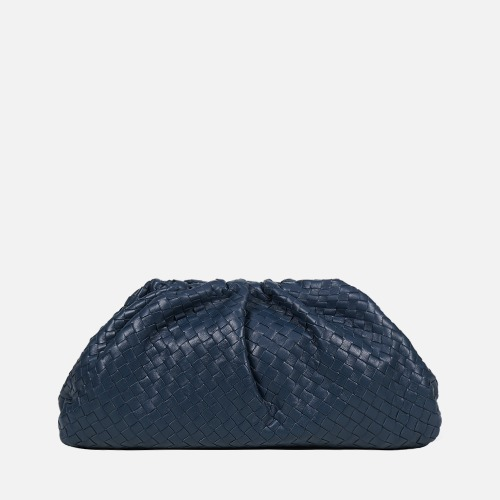 Wrinkle Clutch Bag - PACIFIC