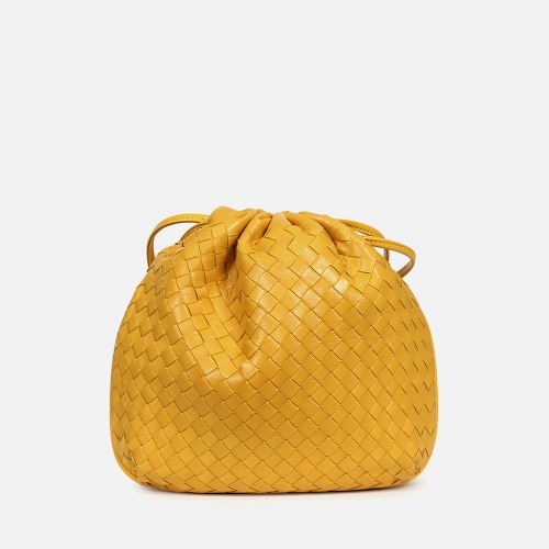 Net Bucket Bag - YELLOW